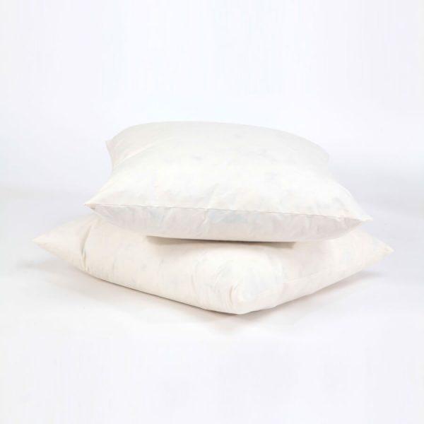 Down cushion pillow inside