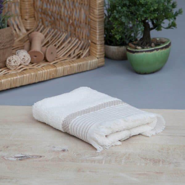 Mia cotton mink towel