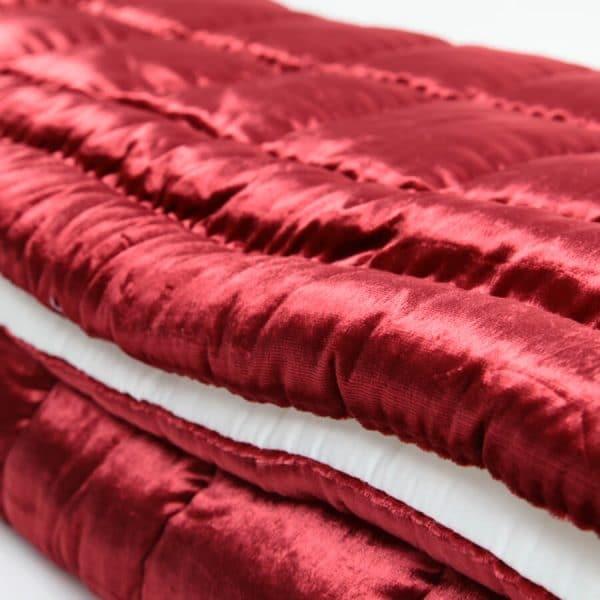 Anatolian hand made duvet burgundy