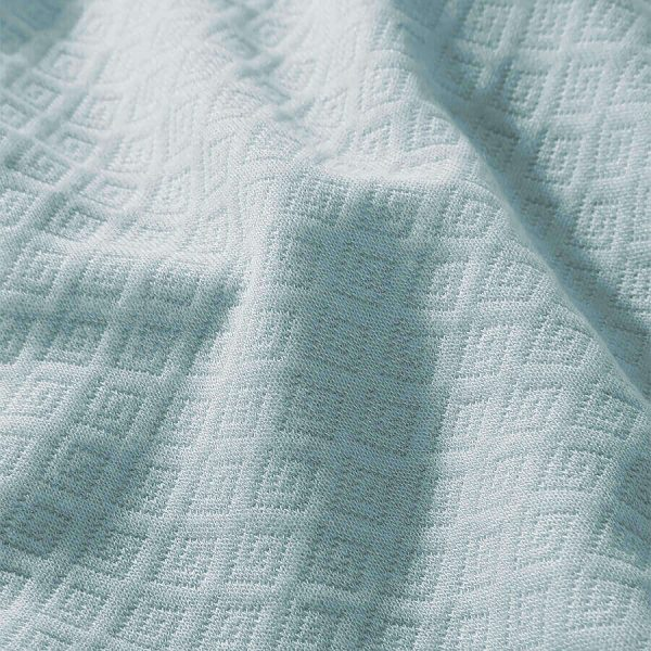 Eliza bamboo throw green