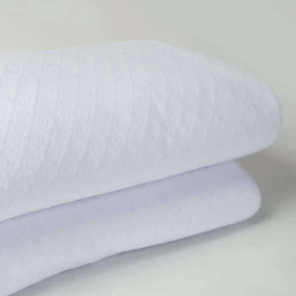 Eliza bamboo throw white