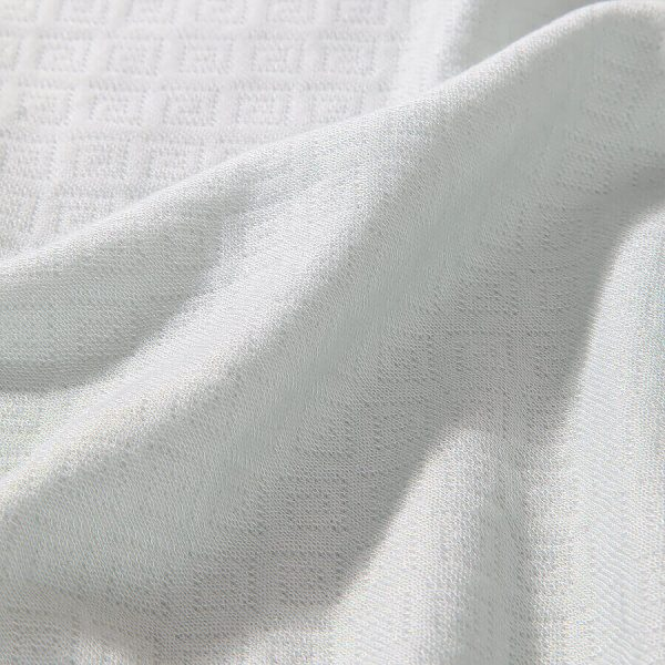 Eliza bambu throw white
