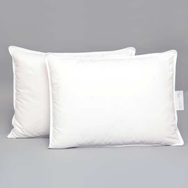 Gold goose down baby pillow