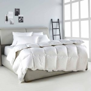 Gold goose down duvet