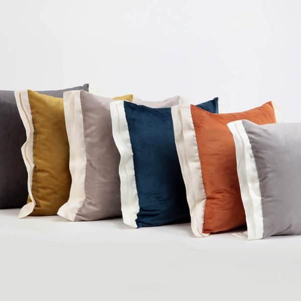 Luna decorative cushion cover dark grey