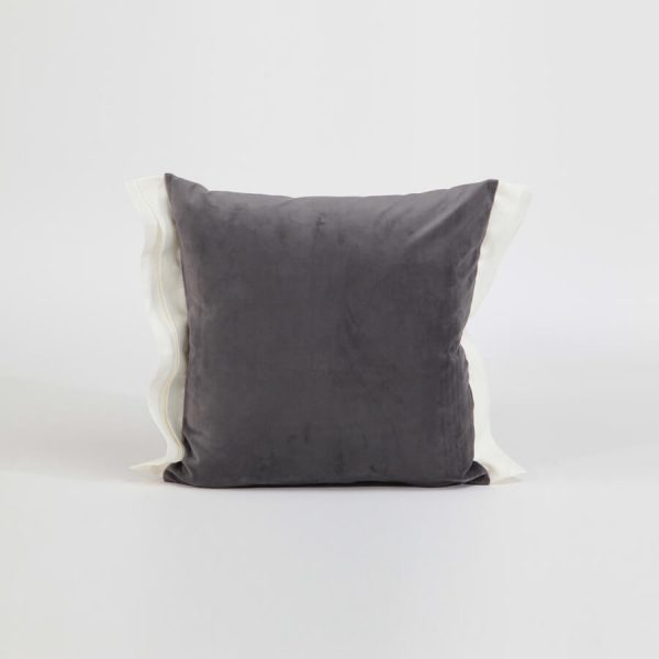 Luna decorative cushion cover grey