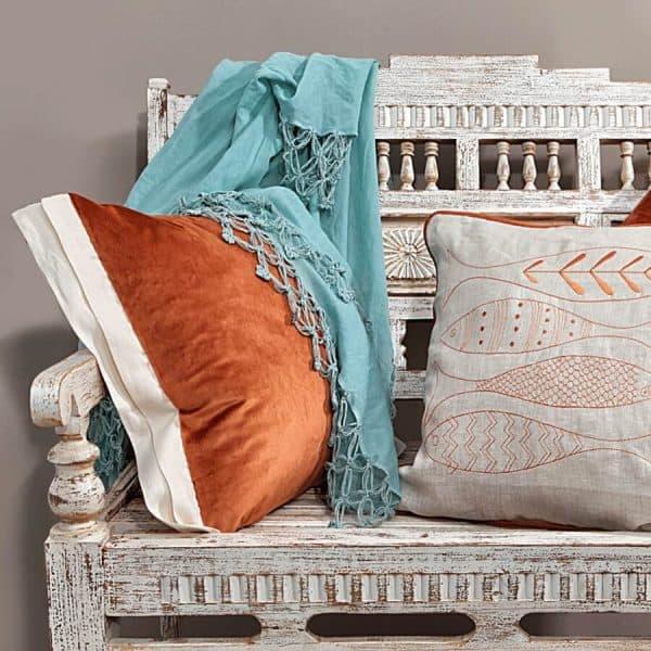 Luna decorative cushion cover tan