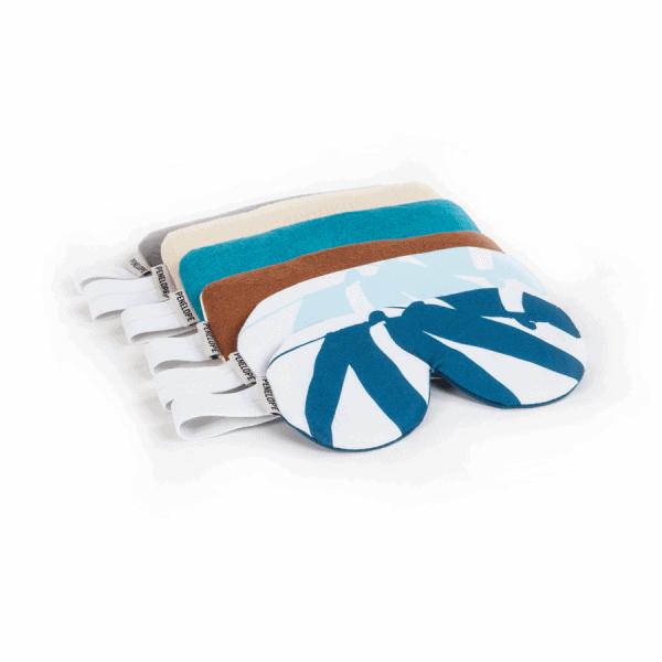 Musk aqua breeze blue sleep eye band mask