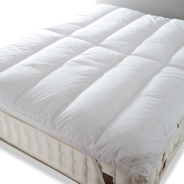 piume tube 50% down mattress topper