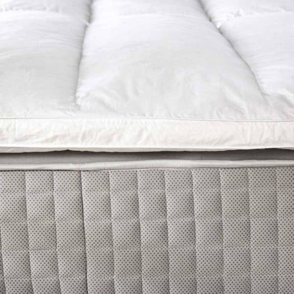 Piume tube goose down mattress topper