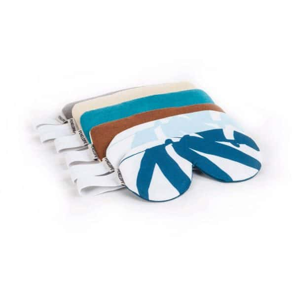 Sueno deep forest dark blue sleep eye band mask
