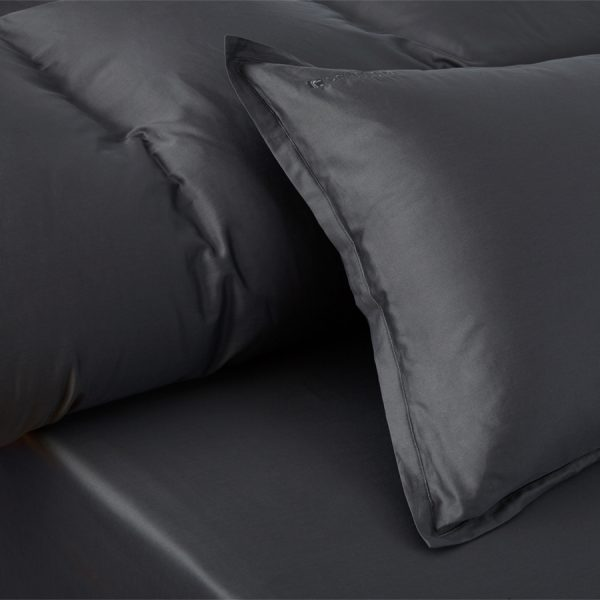 Stella Anthracit duvet cover set 2 pillow cases