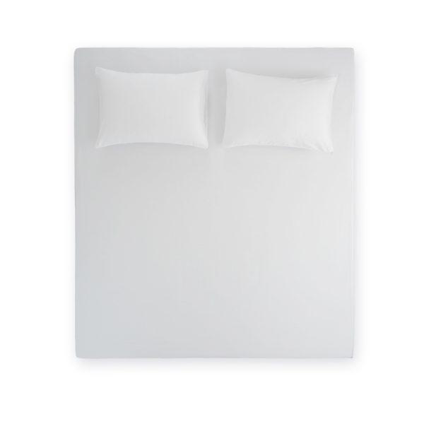 Stella White Flat Sheet Set 2 Pillow cases